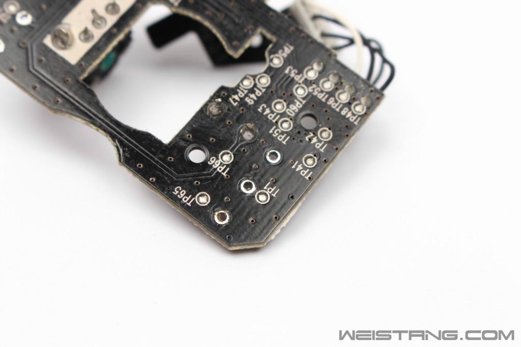 雷蛇巨蝮蛇鼠标拆解 飞线电路图 维修换微动(图17)